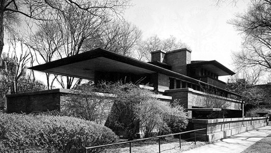 Robie House Chicago by FrankLloyd Wright
