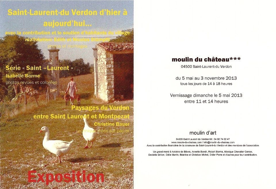 Exposition Christine Bauer