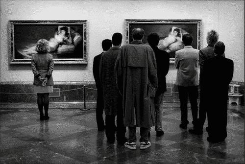 Elliott Erwitt, Museo del Prado, Madrid, Spain, 1995
