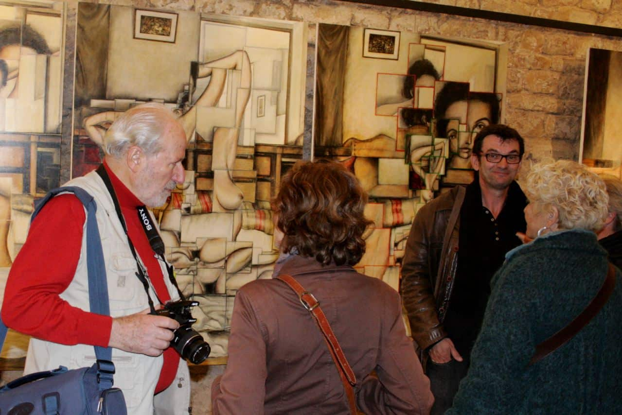 Exposition Bruno Le Bail Greoux Les Bains