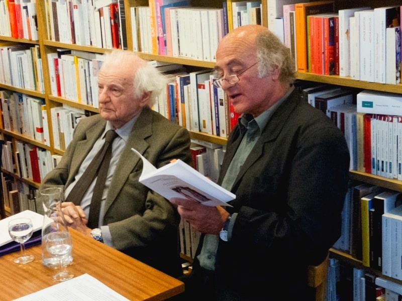 Yves Bonnefoy et Gérard Titus-Carmel