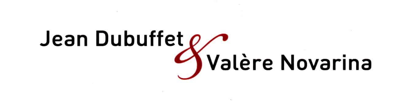 Jeand Dubuffet - Valère Novarina