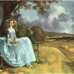 Mr and Mrs Andrews de Thomas Gainsborough, Une robe ciel de Bruno Le Bail