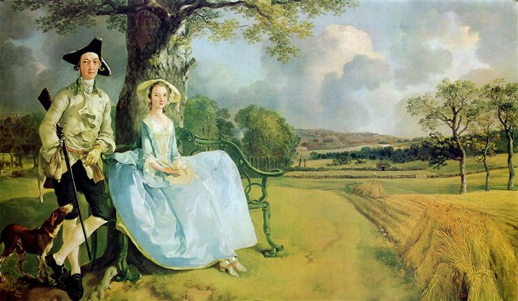 Mr and Mrs Andrews, Thomas Gainsborough, Bruno Le Bail