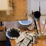 Stage peinture aquarelle dessin et collage en provence