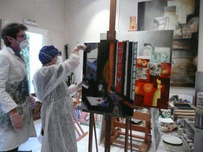Cours de peinture à l'année