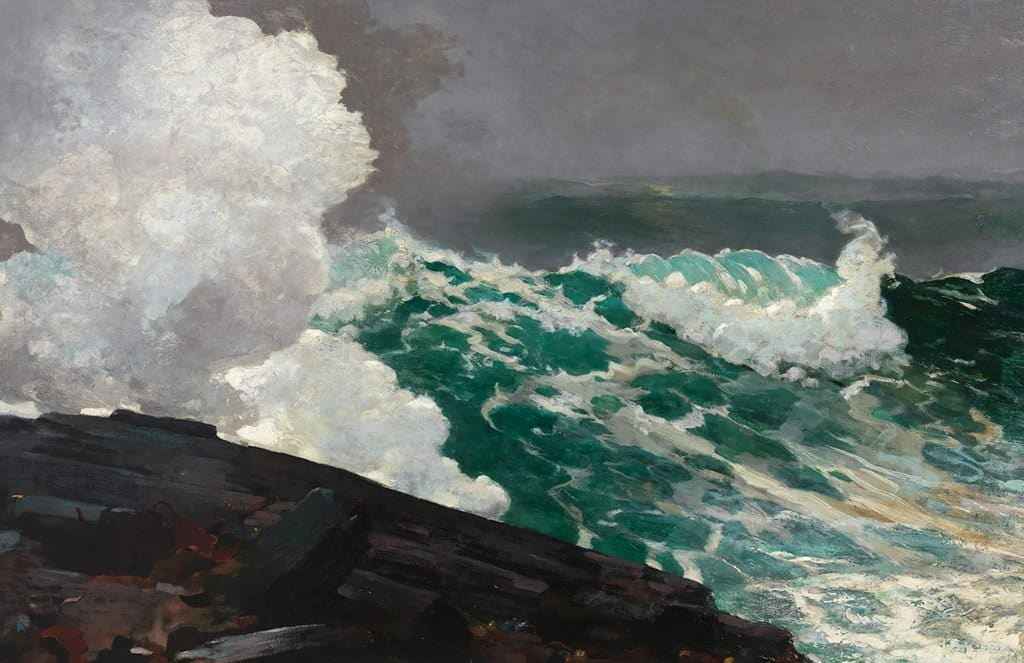 Winslow Homer (American, 1836–1910) | Northeaster | 1895; reworked by 1901