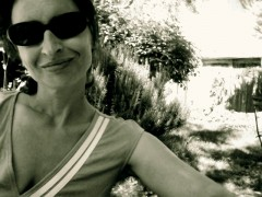 Une bande verte verdon de Christine Bauer