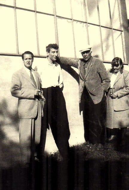 Nicolas de Staël avec George Braque 1950