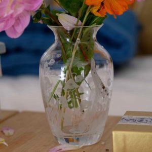 vase cristal d'arque