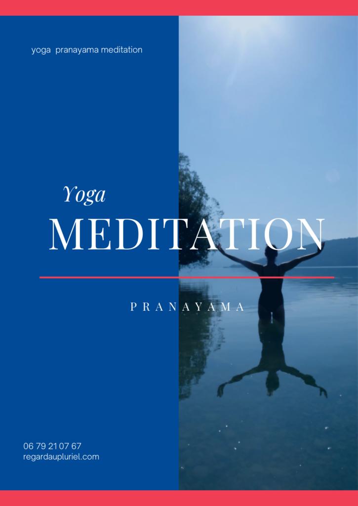 Yoga meditation pranayama